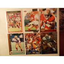 6 Tarj Jerry Rice Todas 1996 49ers