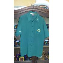 Camisa Manga Corta Nike Dri-fit Patos De Oregon