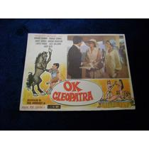 Ok Cleopatra Enrique Guzman Lobby Card Cartel B