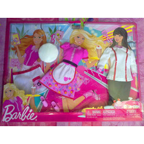 Set De Ropa Para Barbie De Chef Y Meseras