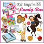 Kit Imprimible Candy Bar Golosinas Personalizadas De Fiesta
