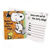 Hallmark Mens Invitaciones Snoopy