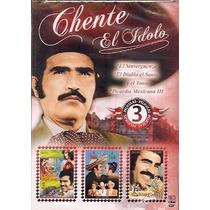Dvd Vicente Fernandez Las 3 Peliculas De Picardia Mexicana