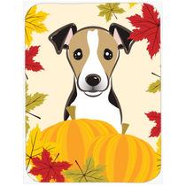 Jack Russell Terrier De Acción De Gracias De Cristal Tabla