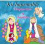 Kit Imprimible Virgencitas Y Santitos - Invitaciones Cards M
