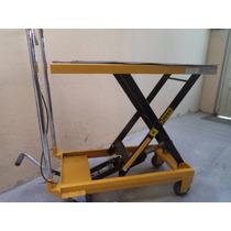 Carrito Plataforma Hidraulico Capacidad 500lbs (226kg)daa