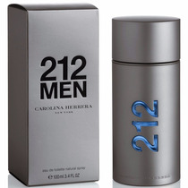 Loción 212 Men 100 Ml Carolina Herrena Original