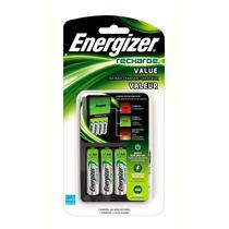 Cargador + 4 Baterias Aa Recargables Energizer Blakhelmet E