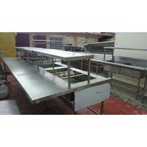 Cocina Industrial Acero Inox Para Restaurante $ 330,000.00