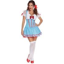 Disfraz De Dorothy Mago De Oz Para Damas, Envio Gratis