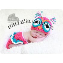 Set Gorro Y Falda Tejido Bebé Crochet Regalo Babyshower