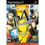 Shin Megami Tensei Persona 4 (nuevo Sellado)- Play Station 2