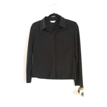 Blusa Camisa Formal Negra Para Dama