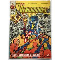 Los Vengadores No. 36 1981 Ed. Novedades Editores Vv4
