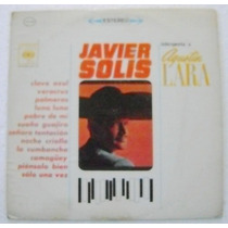 Javier Solis Interpreta A Agustín Lara 1 Disco Lp Vinil