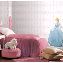 Papel Tapiz Decorativo Infantil Exclusivo Lavable Disney