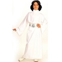 Disfraz De Princesa Leia, Star Wars Para Niñas, Envio Gratis