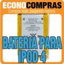 Bateria Para Ipod 4 3.7v 3.44 Whr 100% Nuevo