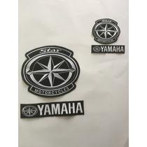 Parche Yamaha V-star Roadstar Royal Star Dragstar White