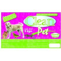 Arena Sustrato Para Mascotas Clean Pet 25kgs