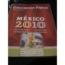 Educación Dísica Segundo Grado México 2010