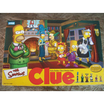 Tm.the Simpsons Clue Parker Brothers