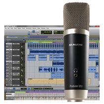Avid Vocal Studio Microfono Usb M-audio Con Protools Se