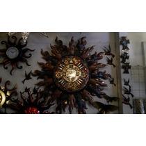 Lámpara Azteca De Cobre Artesanal (grande)