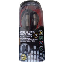 Cable De Fibra Optica 2 Metros Audio Digital Toslink -hdmi N