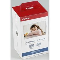 Canon Kp-108 Pulgadas De Tinta A Color Y 108 Hoja De 4 X 6 C
