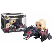 Funko Pop Daenerys And Drogon Game Of Thrones No 15