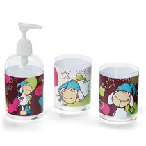 Nici- Vasos Y Dispensador Para Jabon Jolly Sleepy