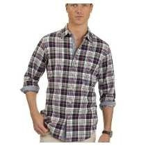 Camisa Nautica Sanded Poplin 100% Original