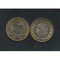 México : Moneda $10 150 Aniv. De La Batalla De Puebla Mn4