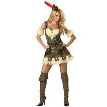 Disfraz De Robin Hood Para Damas, Envio Gratis