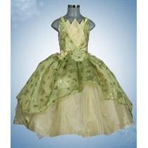 Vestid Princesa Disfraz Tiana La Princes Y El Sapo