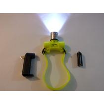 Lámpara O Linterna De Buceo Tipo Minero Recargable Xmlt6