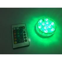 Lampara Led Rgb A Control Sumergible Y Para Salas Iluminadas