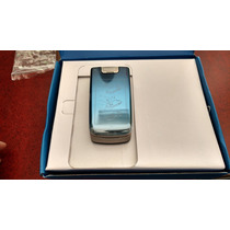 Nokia 6600f . Flip Phone . Azul. Libre. $1999.