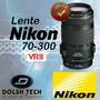 Lente Nikon 70-300mm F/4-5.6g Ed If Af-s Vrii Estabilización
