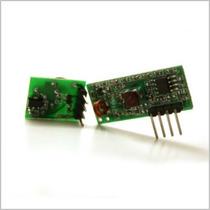 Kit Rf Link Tx/rx 315mhz (funciona Con Arduino, Avr, Pic)