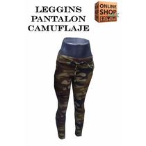 Leggins Pantalon Camuflaje Para Dama A Un Super Precio