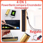 Lampara Tactica Cree Q5, Power Bank, Encendedor, Destapador!