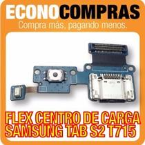 Flex Centro De Carga Para Samsung Tab S2 T715 100% Nuevo!!!!