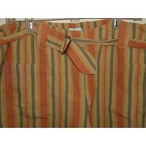 Pantalón Calvin Klein De Lino Dama Talla Extra 16 Nuevo