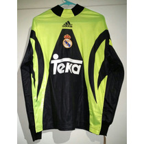 Jersey Real Madrid Adidas Portero Iker Casillas Debut 1999.