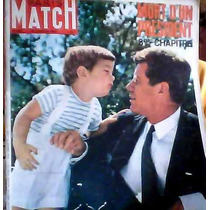 Revistas Paris Match De Kennedy En Frances