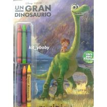 Un Gran Dinosaurio Libro Para Colorear Con Crayolas Fiesta