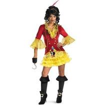 Disfraz De Capitan Garfio Peter Pan Para Damas, Envio Gratis