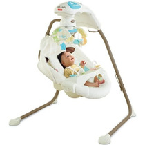Silla Cuna Mecedora Fisher-price Con El Adaptador